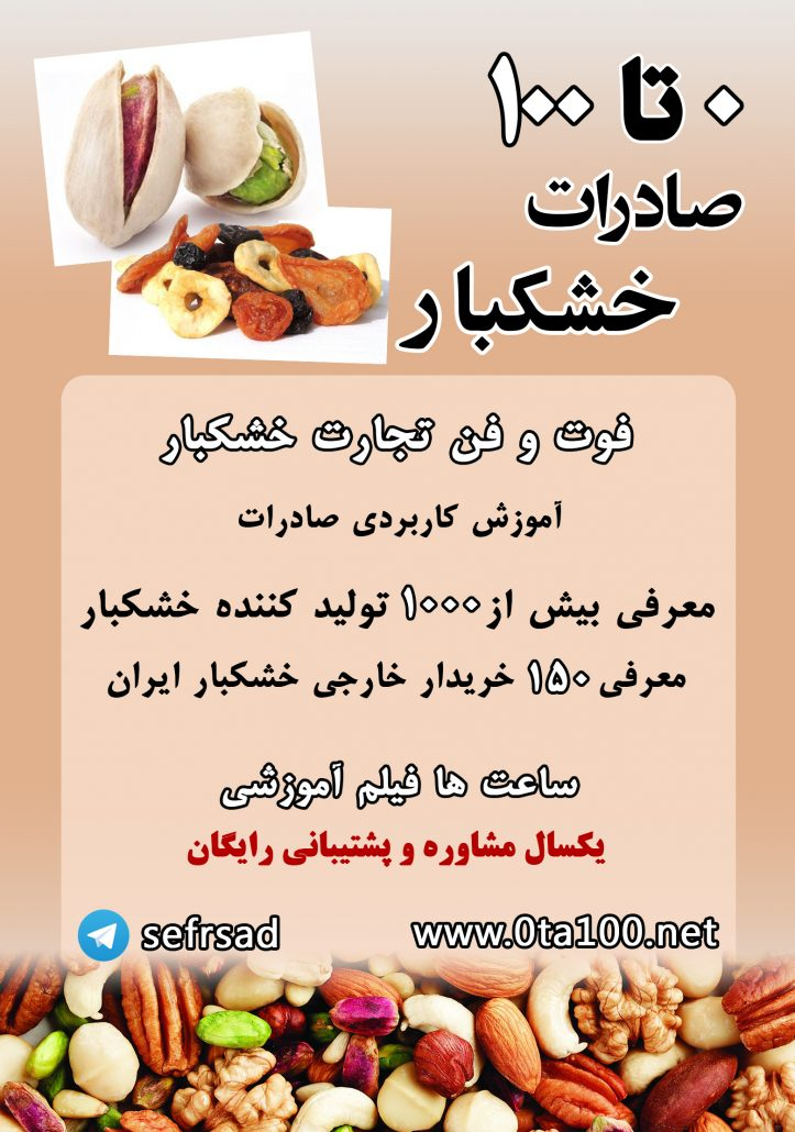 صادرات پسته ایران-سود صادرات پسته