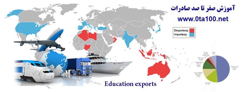 آموزش صادرات